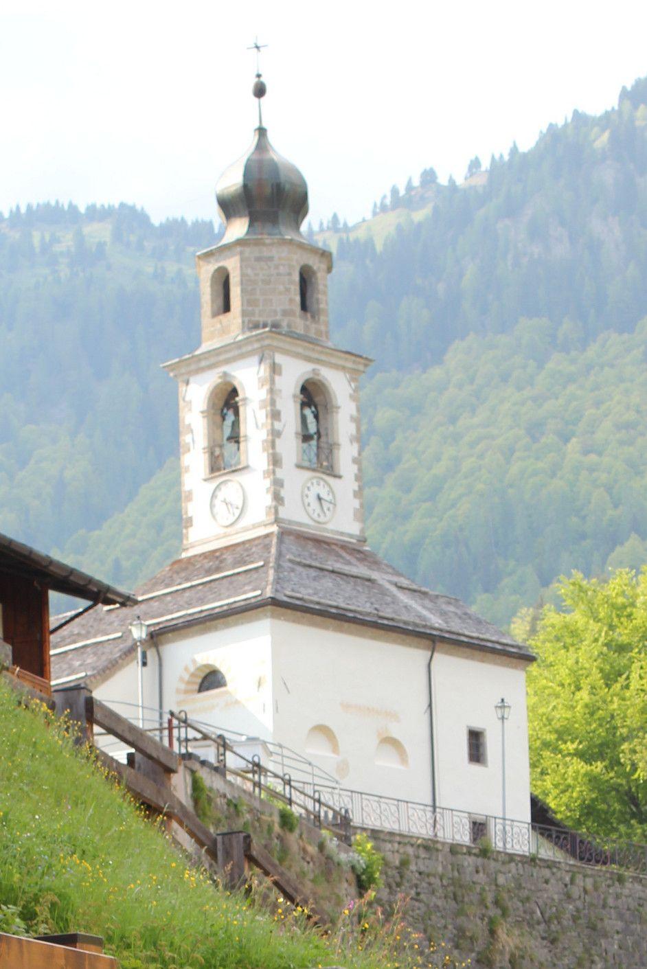 Italien-Kirche in Sauris