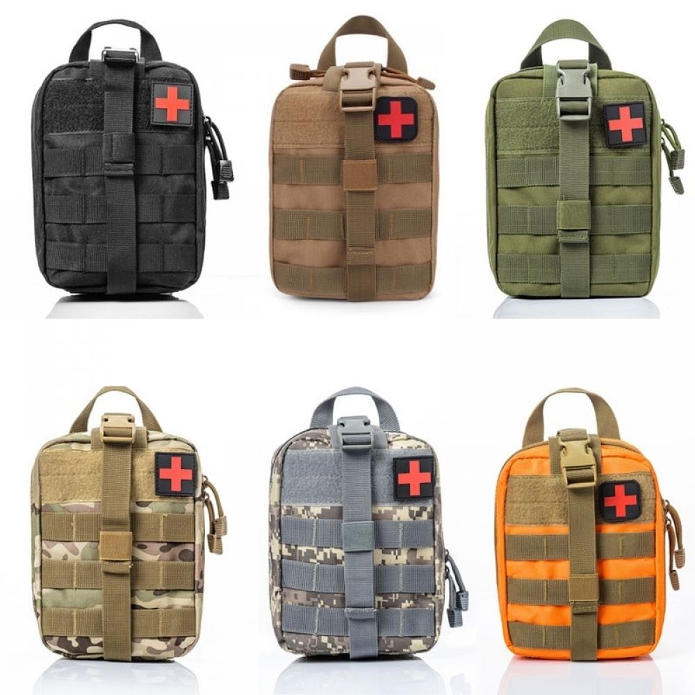 UK Tactical First Aid Kit Bag Medical Molle EMT Emergency Survival Pouch Outdoor