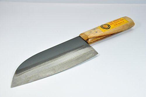 Ayothaya Custom Knives Slicing Utility 65 High Carbon Steel Wood Handle Kitchen Cooking >>> Details can be found at