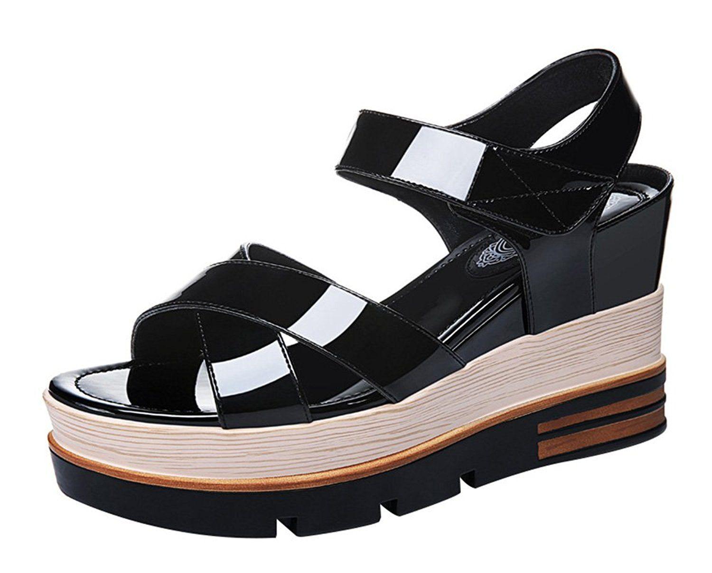 Velcro Platform Wedge Heel Summer