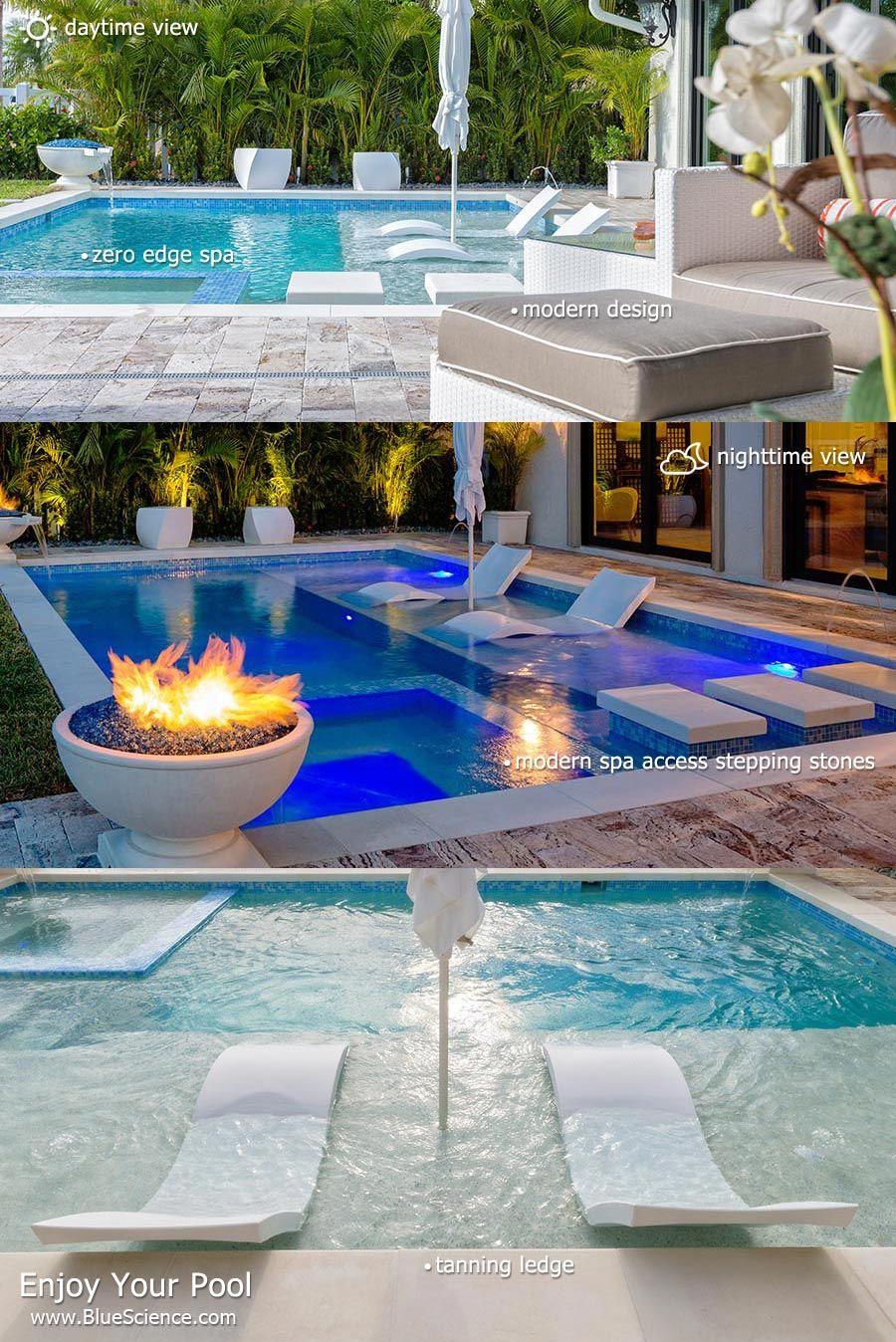 Blue Science: Award Winning Houston Pool Builder | EXTERIOR | Pool ...