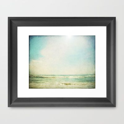 This Time I'll Stay Framed Art Print by Tina Crespo - $37.00