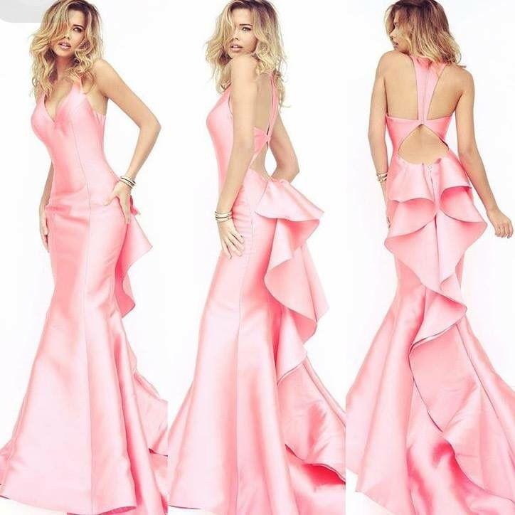 Vestido rosa | Fiestas | Pinterest | Vestido rosado, Vestiditos y ...