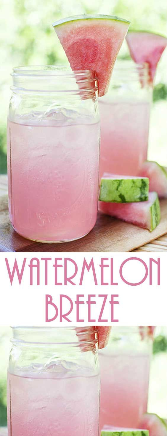 Recipe for Watermelon Breeze
