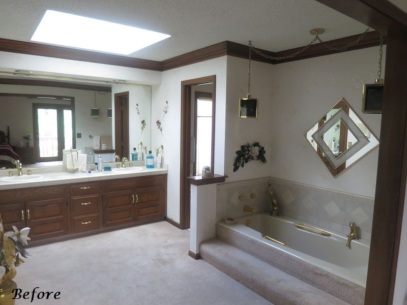 Blast From The Past Bathroom Remodel A Design Connection Inc Delectable Bathroom Remodeling Kansas City