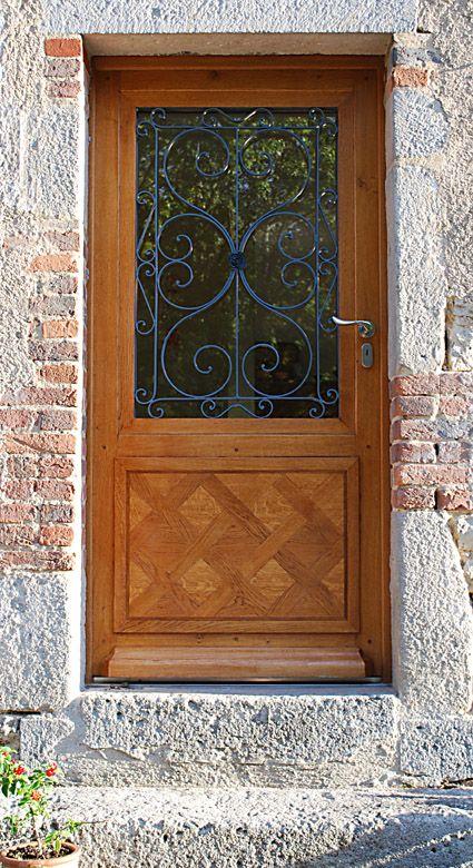 porte d\u0027entree chene avec grille - Bing images Portes Pinterest - porte d entree tarif