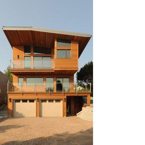 Turkel Design Lindal Cedar Homes West Vancouver Bc Cabin Design Eco Friendly House Lindal Cedar Homes