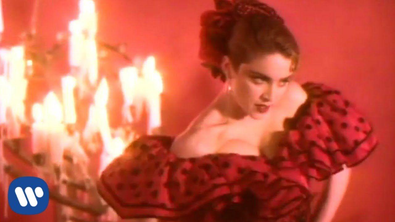 Madonna La Isla Bonita Official Music Video Youtube Muzyka Swiat
