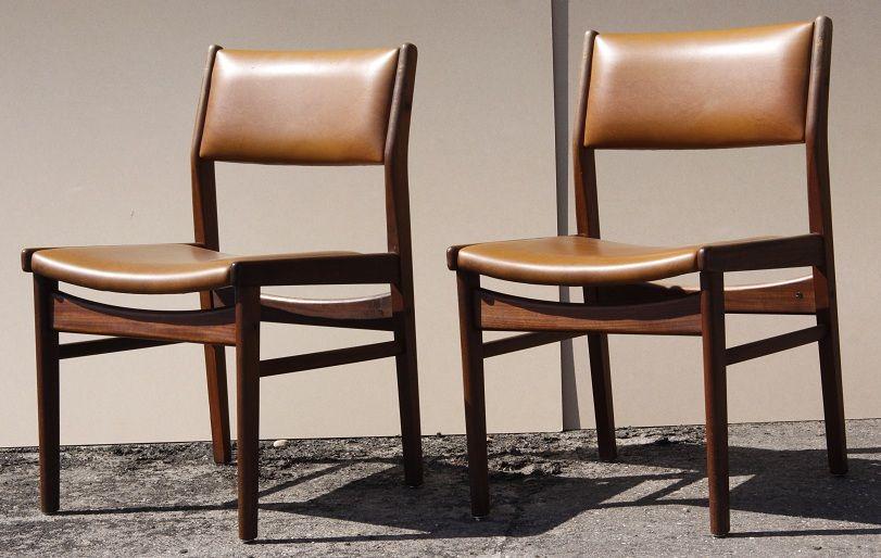 Mooie Design Eetkamerstoelen.Twee Super Mooie En Nette Deense Design Stoelen