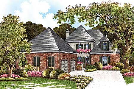Plan 55040BR Future Home Pinterest - Plan De Construction D Une Maison