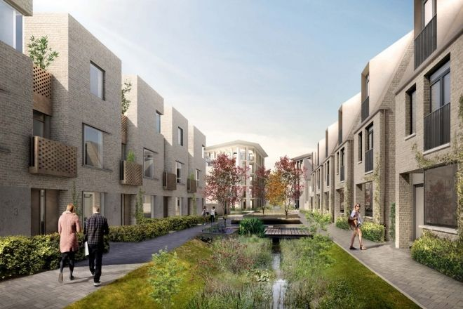 Planning permission granted for housing with Robert Myers Associates landscape strategy