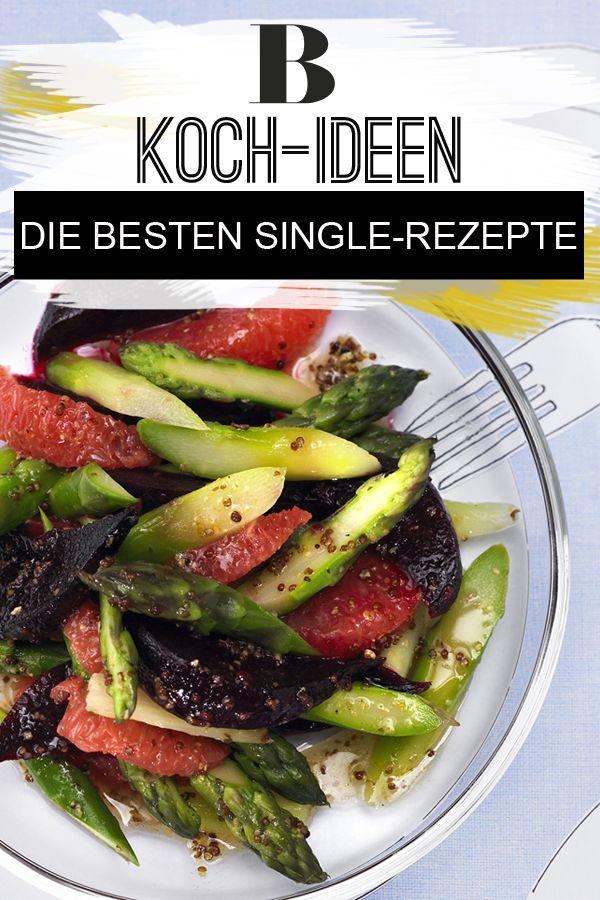 Single-Rezepte: Das Beste nur für mich