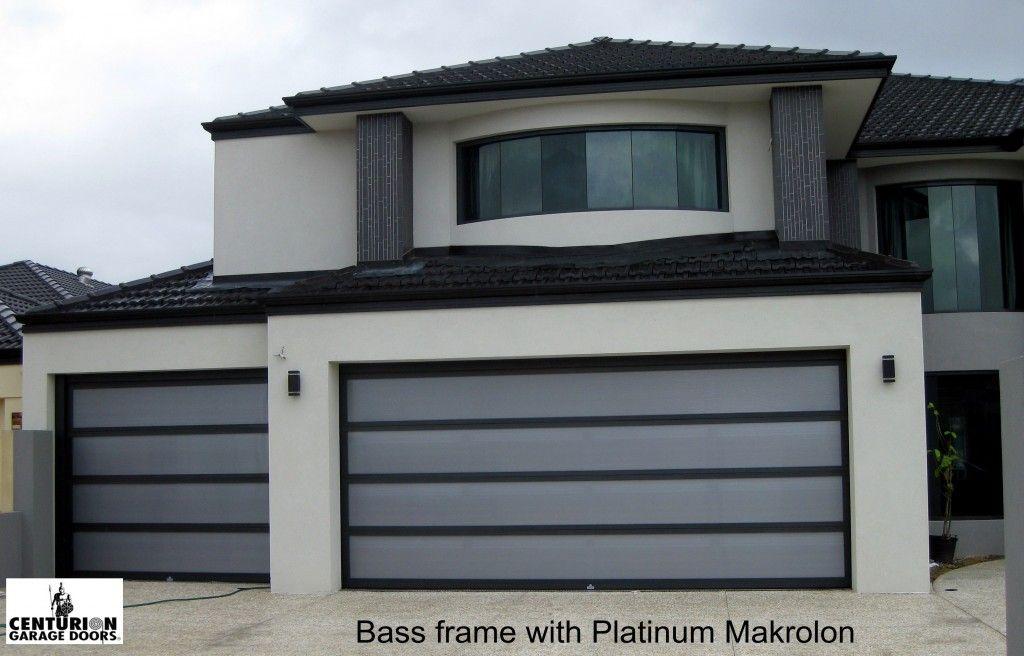 Bass Frame With Platinum Makrolon Sunshine Garage Door Series