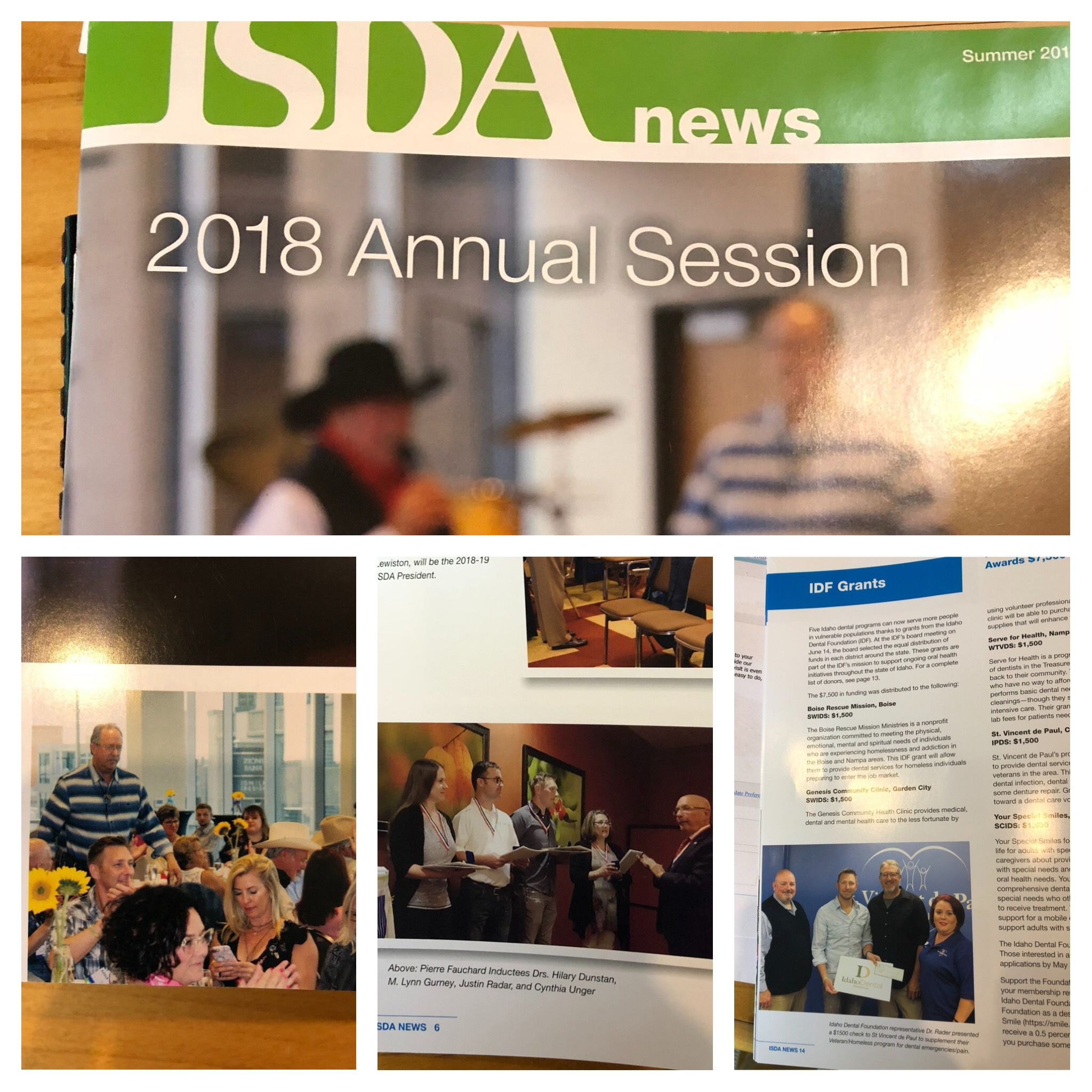 Idaho State Dental Association News Of The Annual Session And Dr