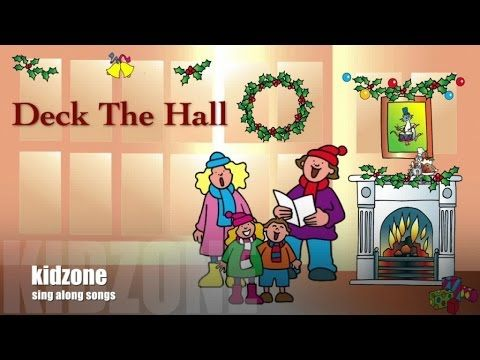 kidsmusicCYP - YouTube   Sing along songs, Deck the halls, Christmas song