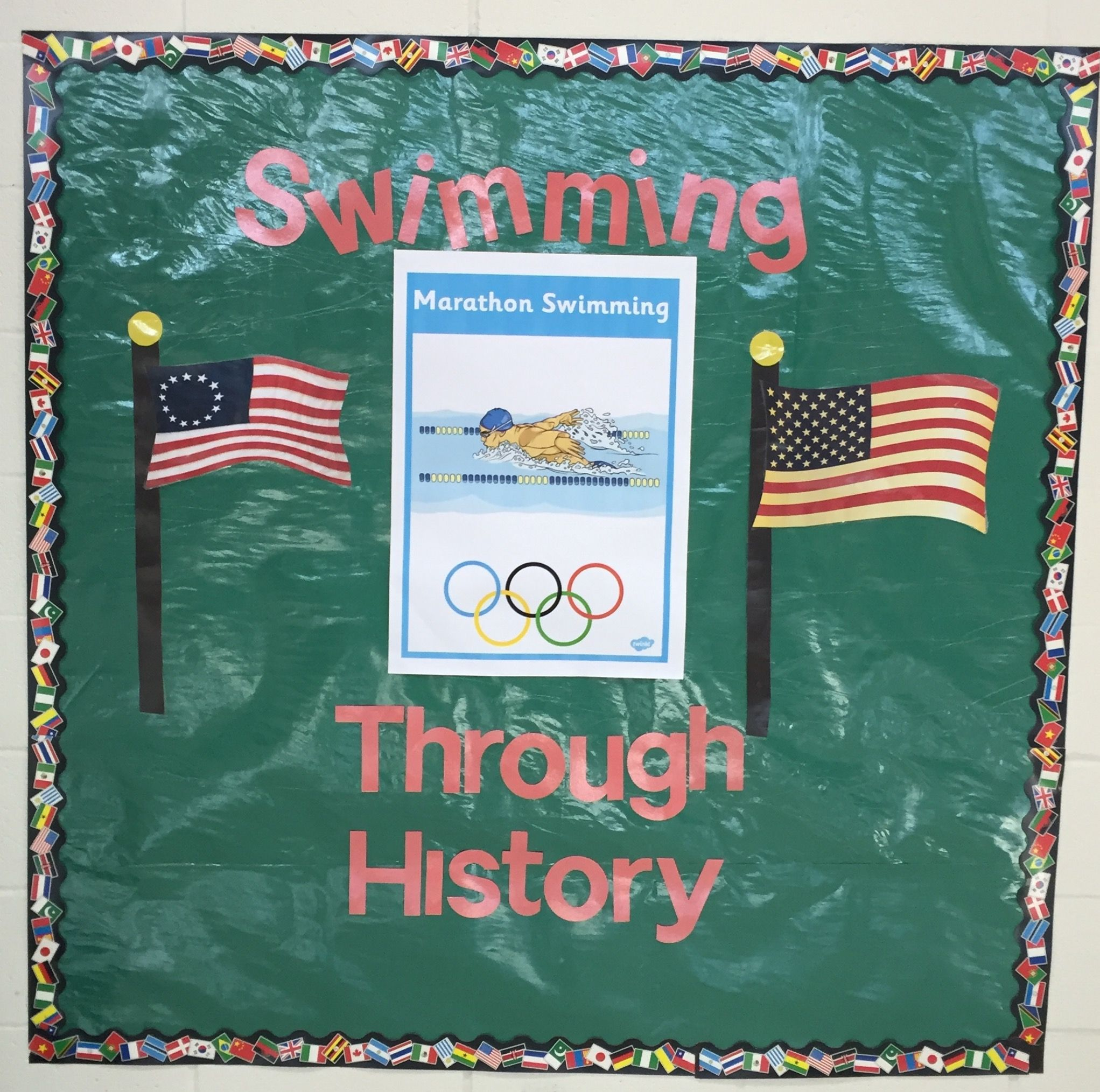 School Olympic decorations | olympics | Pinterest | School