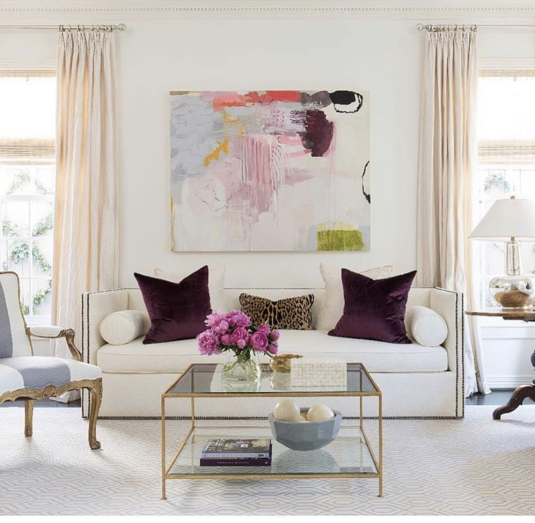 pinburnish style on art  all white room home decor