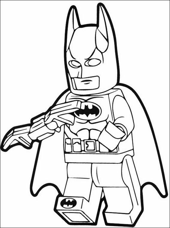 Lego Batman Coloring Pages 31 | Lego Batman Party/ Batman party ...