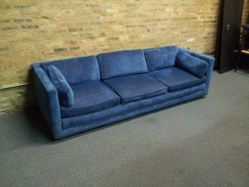 Vintage Blue Henredon Sofa | architecture and design | Sofa sale ...