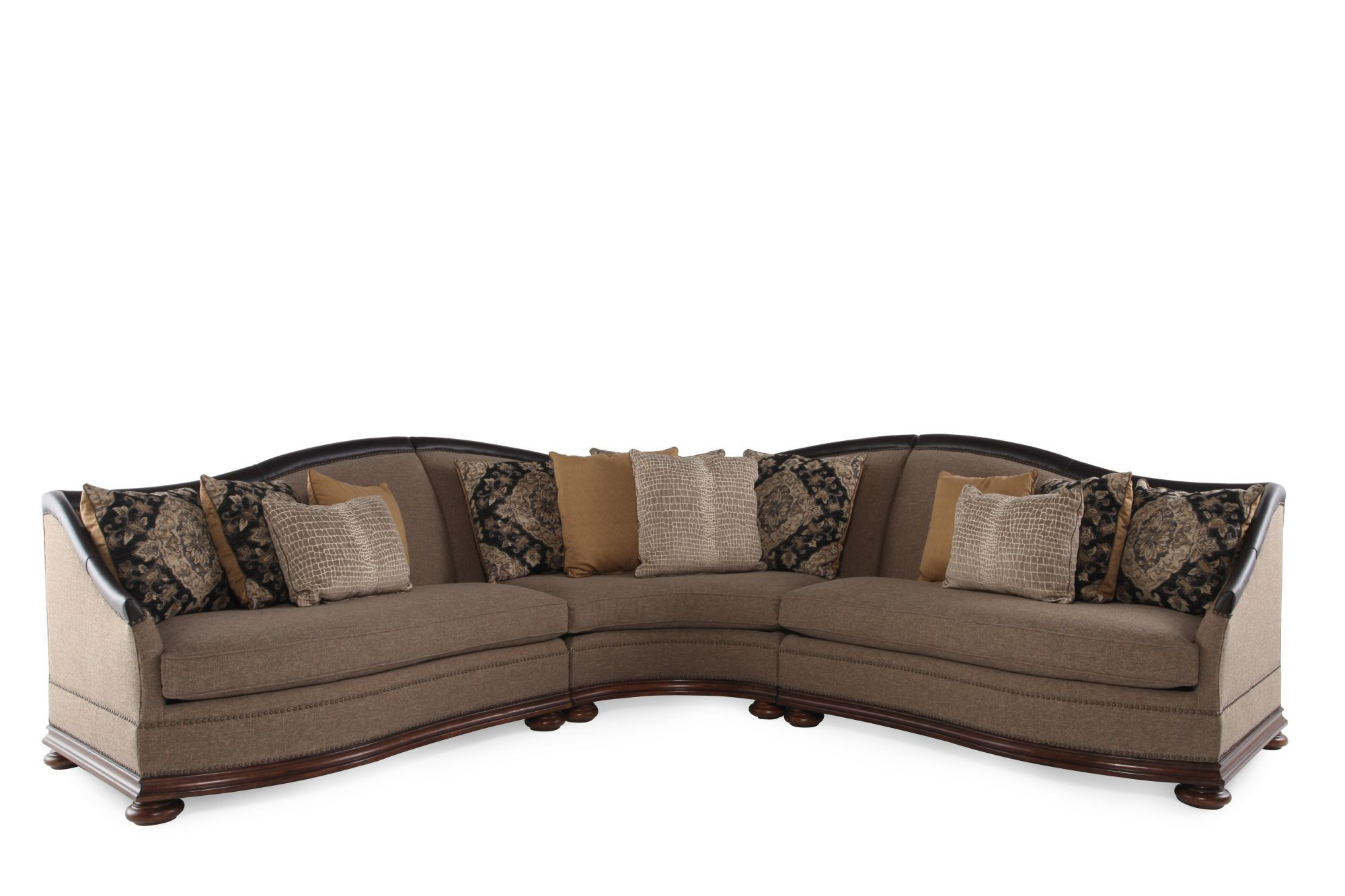 A.R.T. Furniture Esperanza Three-Piece Sectional | Mathis Brothers ...