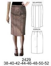 7f252b895 Resultado de imagen para patrones para hacer una falda recta   zeta ...