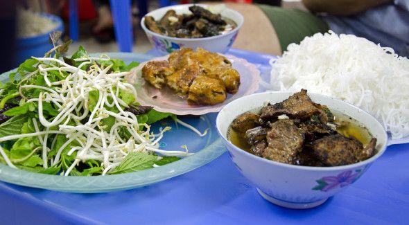 Toll Best Bun Cha In Hanoi. Food Guide: Http://www.foodandthefabulous