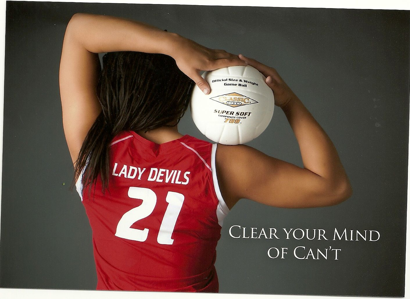 Love the quote Hate the jersey ;) Volleyball photos