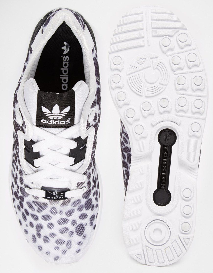 hot sale online 58b36 875d1 Image 3 - Adidas Originals - ZX Decon Flux - Baskets à pois - Noir et