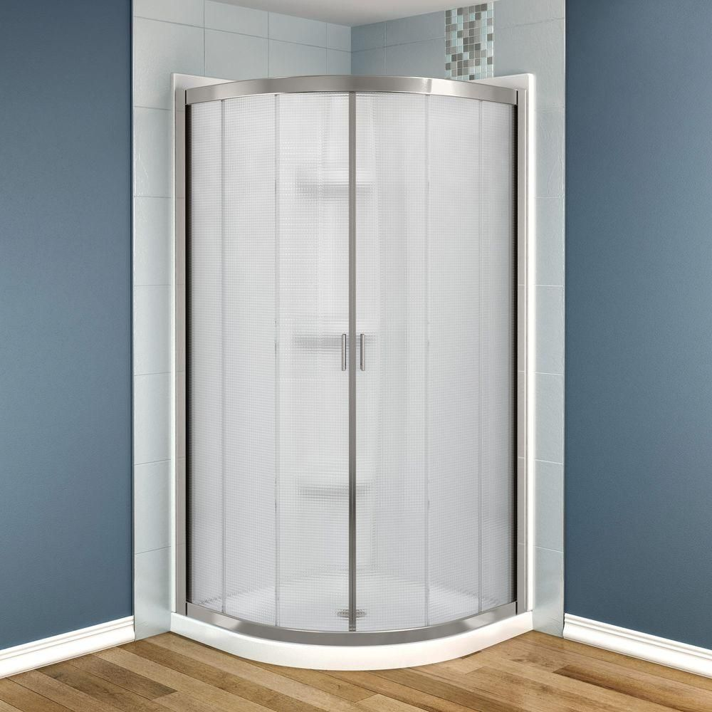 Maax Intuition Neo Round 32 In X 32 In X 73 In Shower Stall In