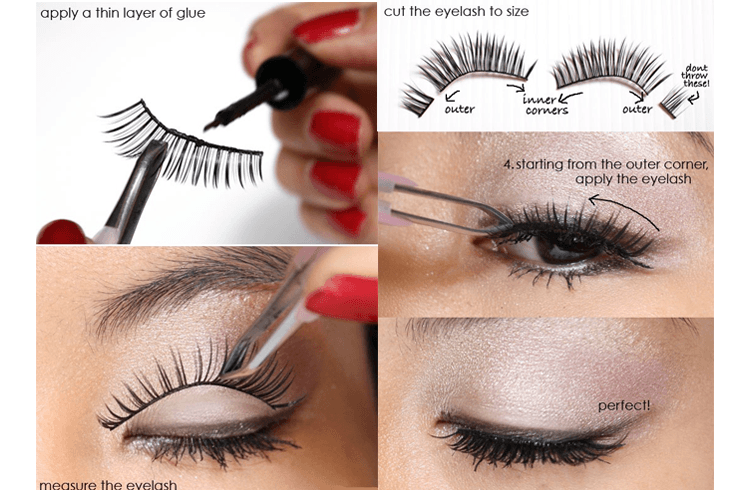 8a82992a5f1 Trying out Fake Eye Lashes for the First Time? Follow These Tips ...