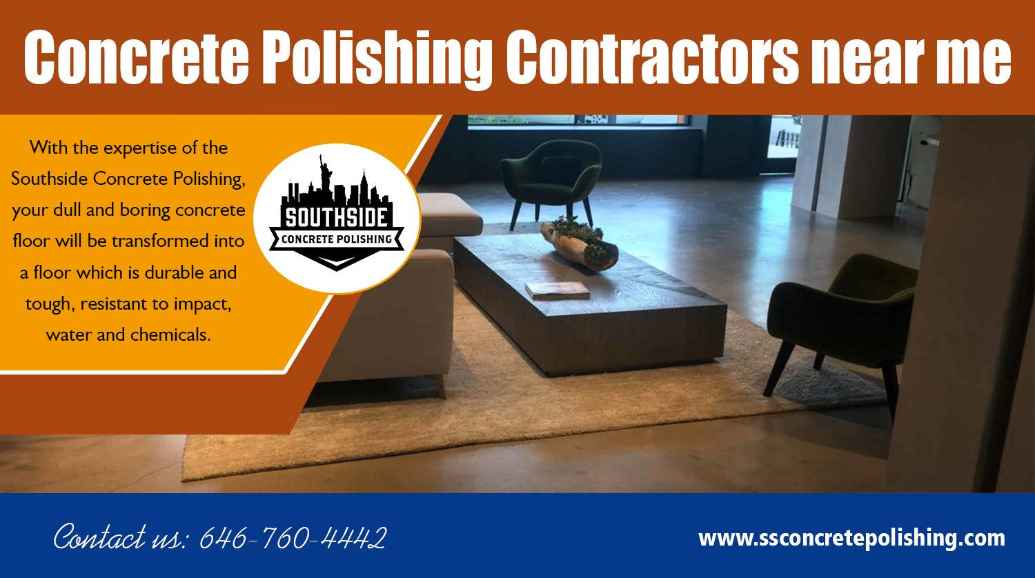 The role of Concrete polishing contractors near me