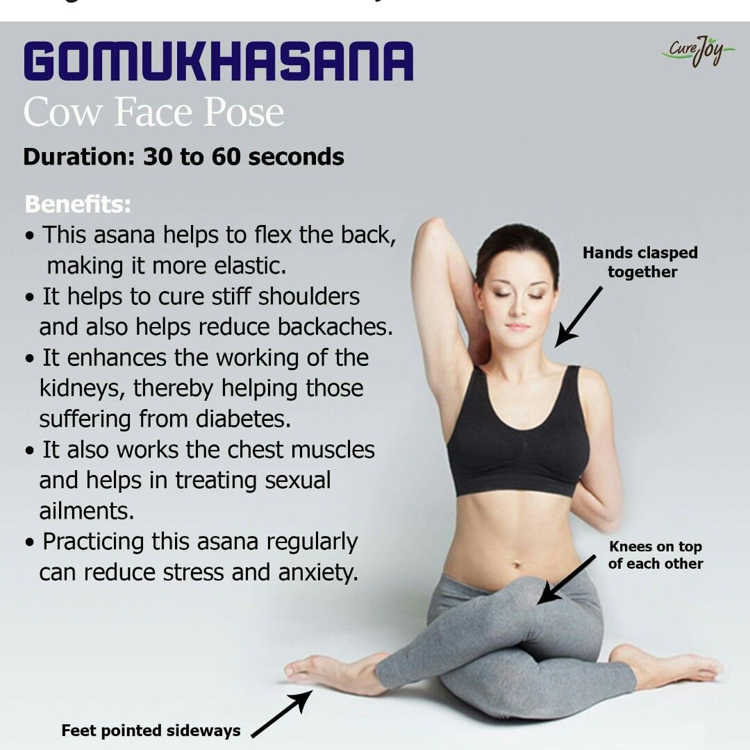 Gomukhasana Helps In Curing