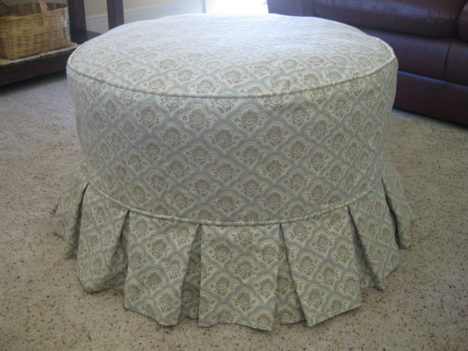 charming ideas info your slipcover on round sew sale brooklinehavurahminyan cover best ottoman my style fancy about in