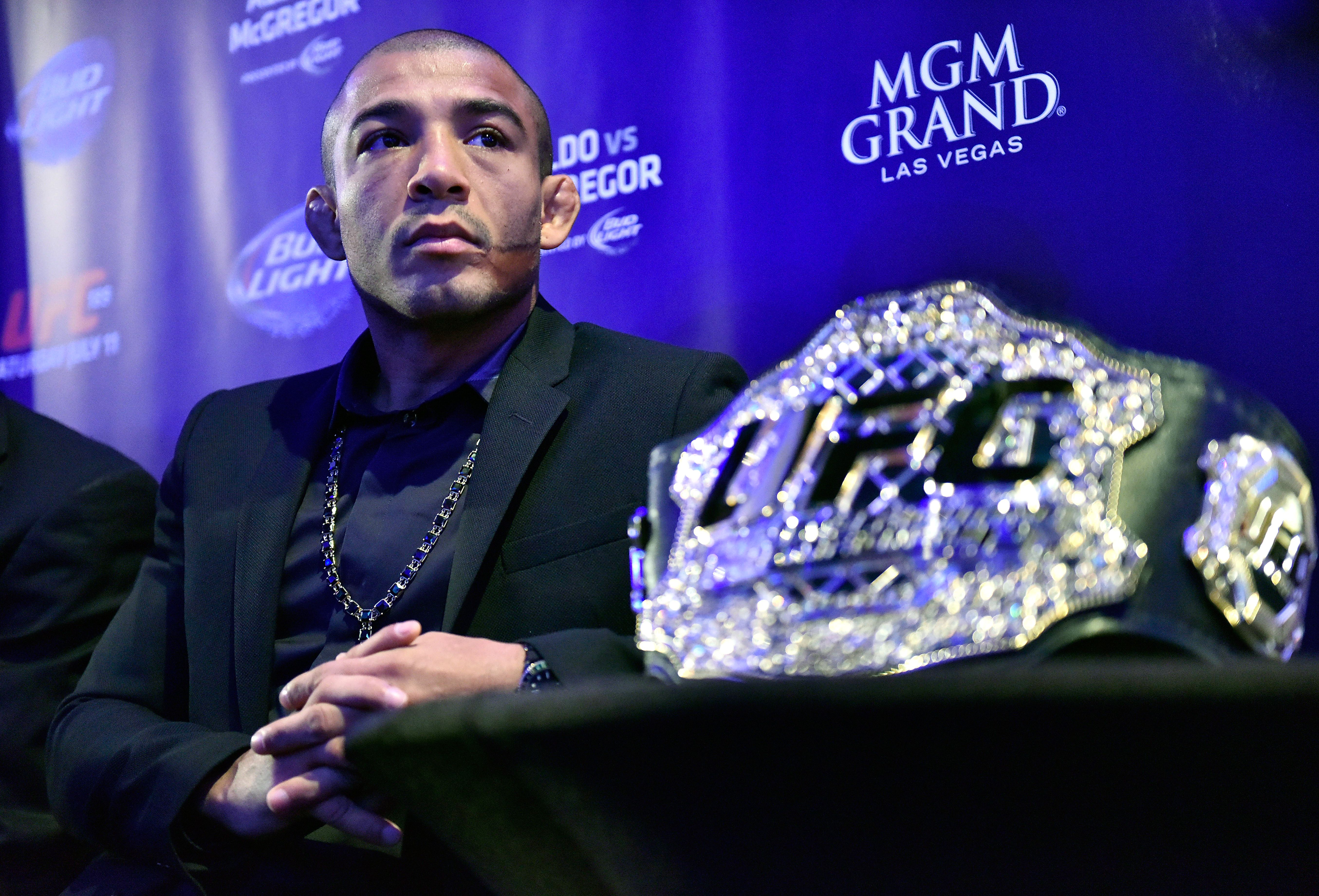 Legend of 'Scarface' How Jose Aldo's latest withdrawal