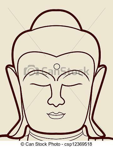 boeddha hoofd tekening - google zoeken   acrylic inspiration