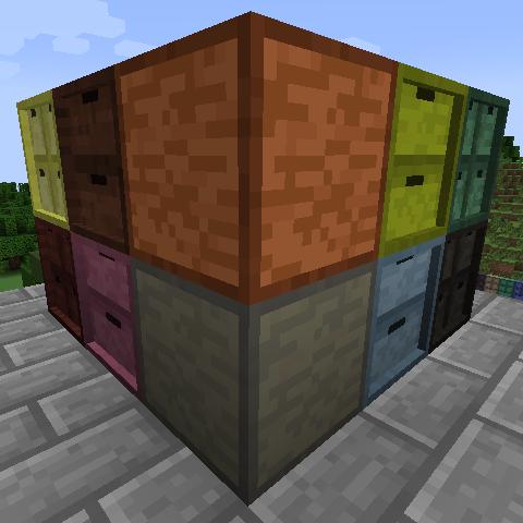 Storage Drawers Extras Mod 1 14 4 1 13 2 1 12 2 1 11 2 1 10 2 1 8 9 1 7 10 Minecraft Modpacks Storage Drawers Storage Wooden Drawers