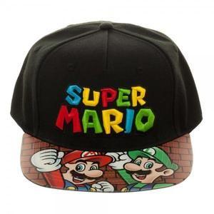 Super Mario Bros. Printed Vinyl Bill Flatbill  f15afe875cd9