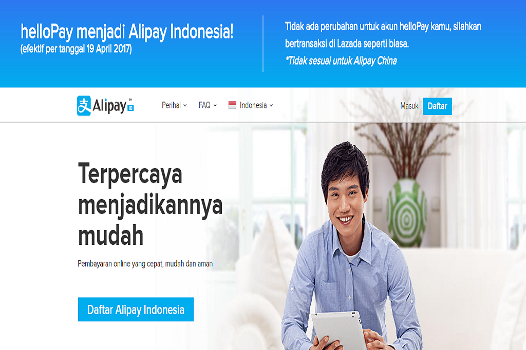 Alipay Bikin Belanja Online Lebih Aman Tanggal
