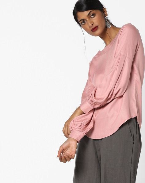 934e344dcbde69 Shop ladies tops online from top brands. Handpicked tops for women at Ajio .com
