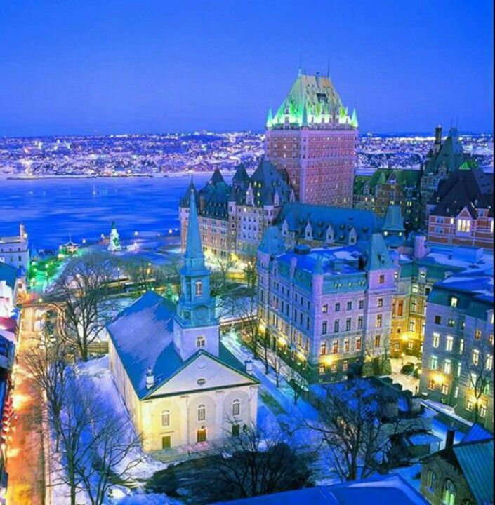 Wonderful Quebec City Http Www Travelandtransitions Com