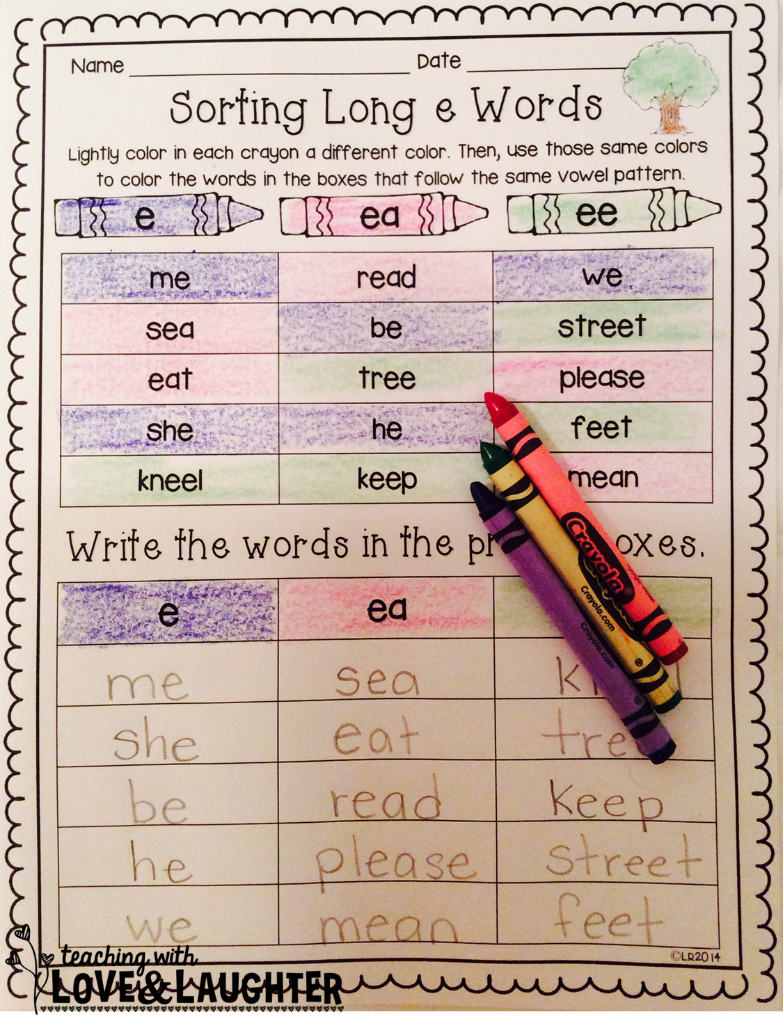 Preschool Writing Patterns