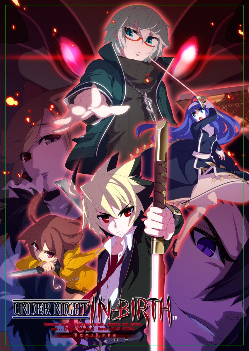 Under Night In-Birth EXE:Late | Anime | Birth art, Cool anime