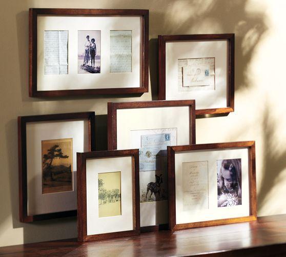 Wood Gallery in a Box Frames, Black Frames - Set of 6 | Pinterest ...