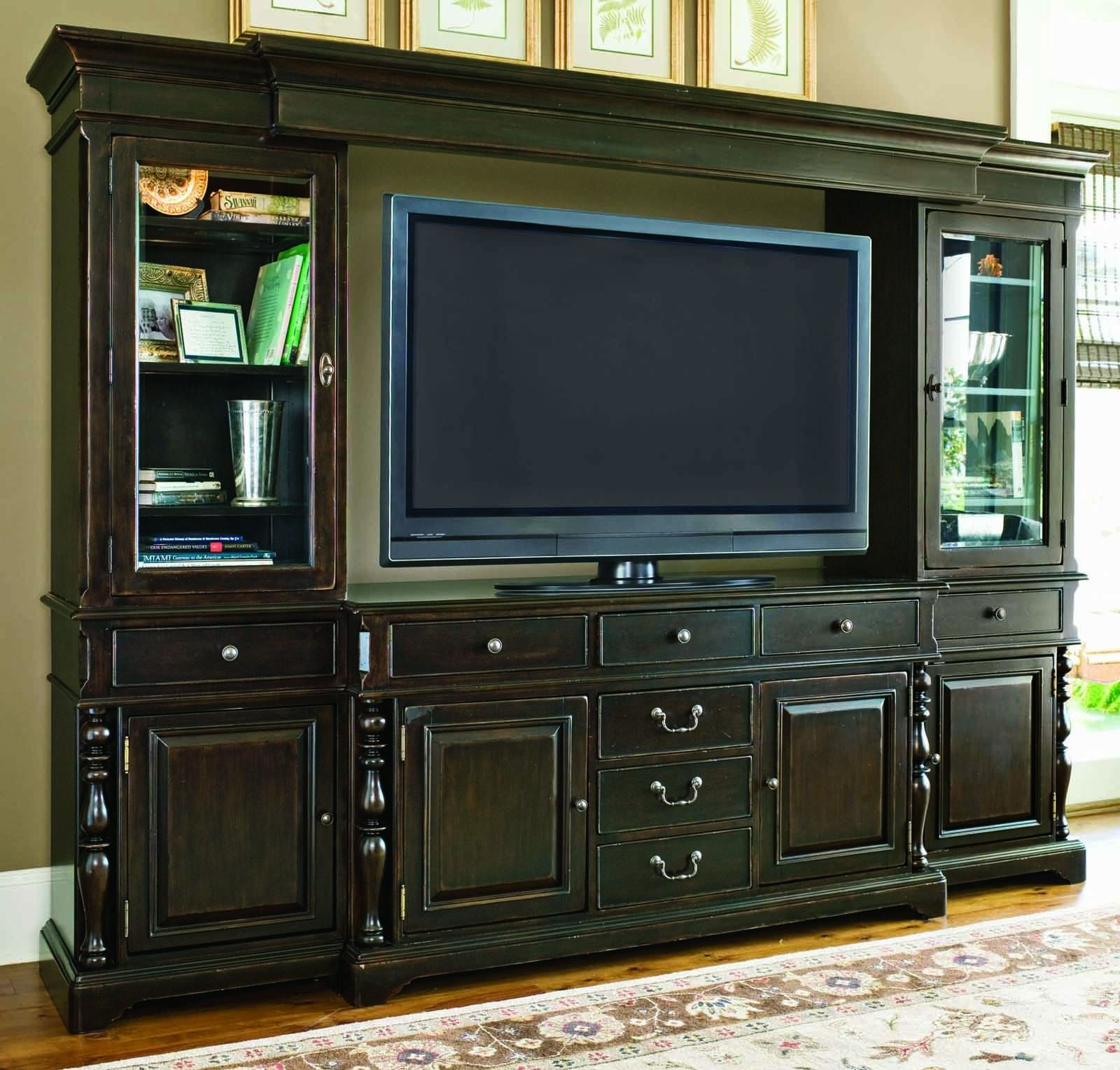 Awesome Paula Deen Entertainment Wall Unit Tobacco Finish Is A Part Of Paula Deen  Furniture Collection. Available At Knight Furniture Showrooms In Florence,  SC.