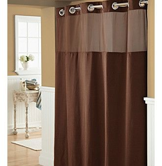 HooklessR Diamond Pique Shower Curtain