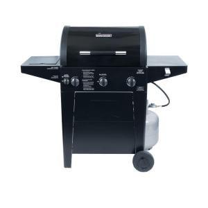 Brinkmann Professional 3 Burner Propane Gas Grill 810 3330 Sb At The Home Depot Propane Gas Grill Gas Grill Outdoor Kitchen Grill