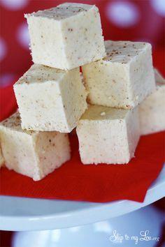 Eggnog Fudge I Heart Nap Time | I Heart Nap Time - Easy recipes, DIY crafts, Homemaking