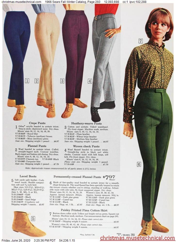 1966 Sears Fall Winter Catalog, Page 293 - Christm