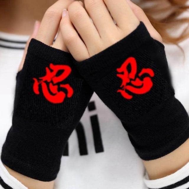 Photo of Anime Cosplay Semi-Finger Gloves – 16