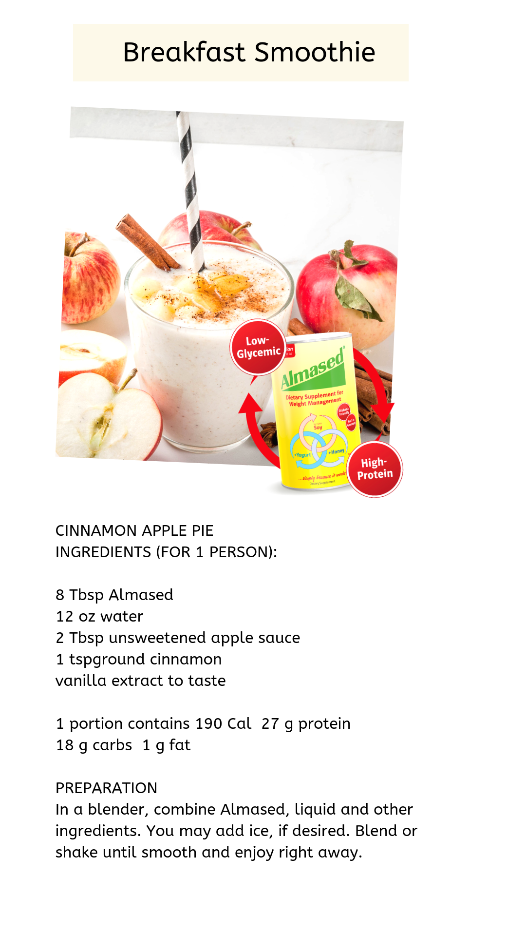 Pin On Healthy Breakfast Smoothies